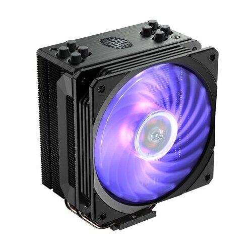 Кулер для процессора Cooler Master Hyper 212 RGB RGB Black Edition кулер для процессора cooler master hyper 212 led turbo red top cover