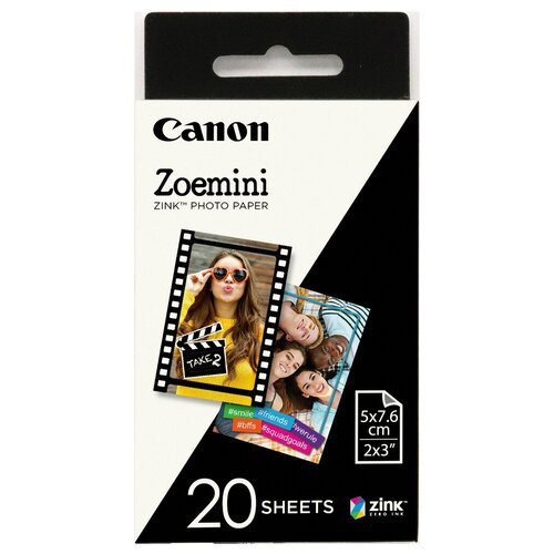 Фото - Бумага Canon ZINK ZP-2030 (3214C002) 20 лист., белый бумага canon zink zp 2030 3214c002 20 лист белый