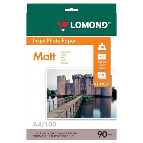 Фото - Бумага Lomond A4 Photo Paper 0102001 90 г/м² 100 лист., белый бумага lomond a4 photo paper 0102003 120 г м² 100 лист белый