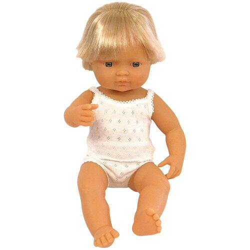 Пупс Miniland мальчик европеец, 38 см, 31151