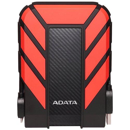Фото - Внешний HDD ADATA HD710 Pro 1 TB, черный/красный внешний hdd adata hd710 pro 2 tb красный