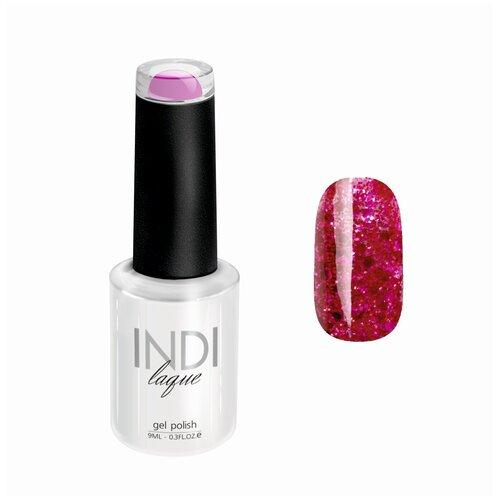 Гель-лак для ногтей Runail Professional INDI laque с мелкими блестками, 9 мл, 4264 гель лак для ногтей runail indi laque 4248 бежевый с мелкими блестками 9мл