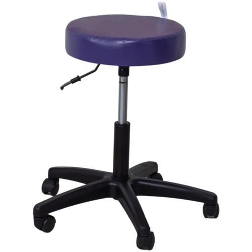 Стул мастера косметолога фиолетовый стул мастера косметолога синий