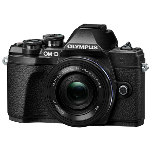 Фото - Фотоаппарат Olympus OM-D E-M10 Mark III Kit черный M.Zuiko Digital ED 14‑42mm F3.5‑5.6 EZ Pancake фотоаппарат olympus om d e m10 mark iii kit 14 42mm iir pancake 40 150mm r black black black