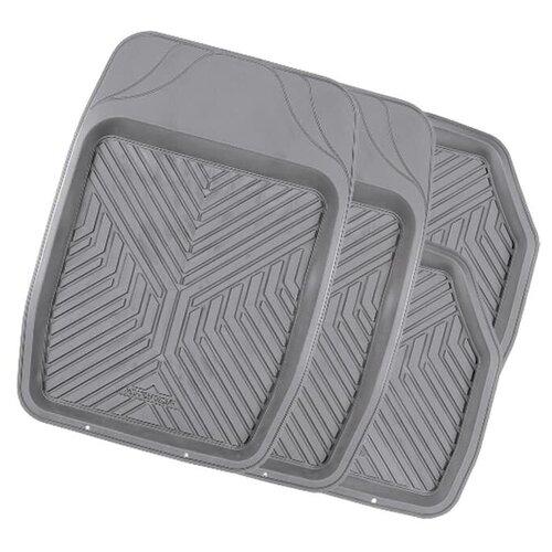 Фото - Комплект ковриков салона AUTOPROFI TER-150 4 шт. голубой комплект ковриков autoprofi pet602 4 шт черный