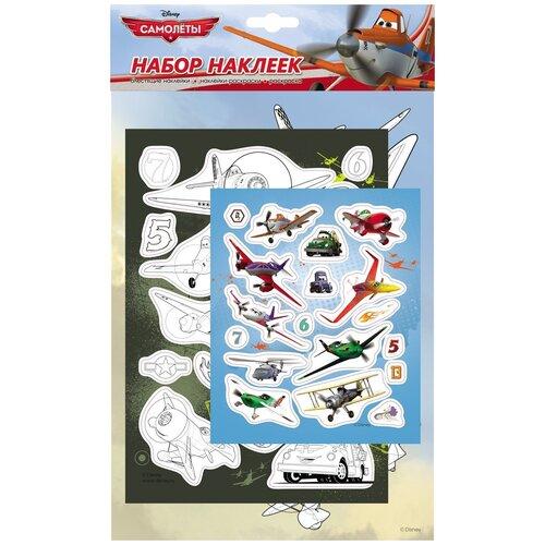 Фото - РОСМЭН Набор 100 наклеек Disney Самолеты 1 (21132) росмэн набор 100 наклеек герои