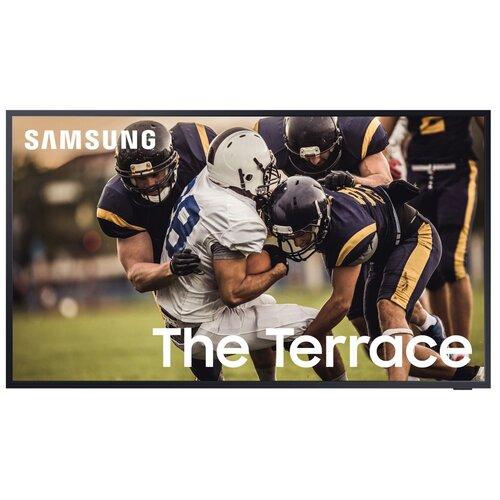 Фото - Телевизор QLED Samsung The Terrace QE65LST7TAU 64.5 (2021), черный титан телевизор qled samsung the frame qe65ls03aau 64 5 2021 черный