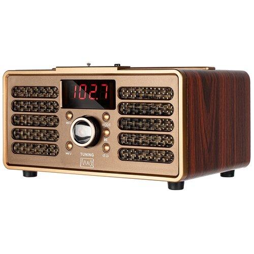 Портативная аудиосистема с Bluetooth MAX Wood