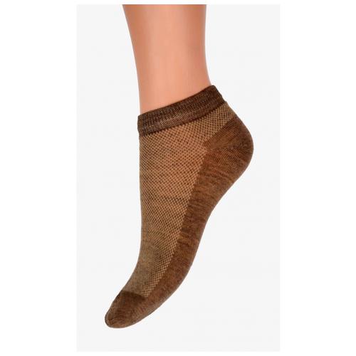 Носки Doctor Soft из верблюжьего пуха укороченные (Бежевый, 23 (размер обуви 36-37))