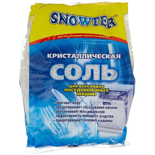 Snowter Соль кристаллическая для посудомоечных машин 1,5 кг