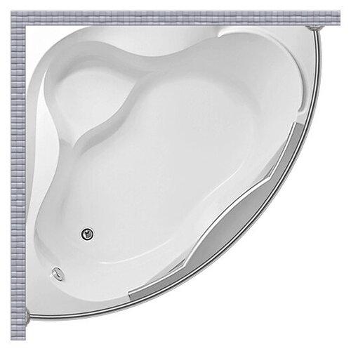 Карниз для ванной (Штанга) усиленный 20 1MarKa Grand Luxe 155x155 Полукруглый, дуга