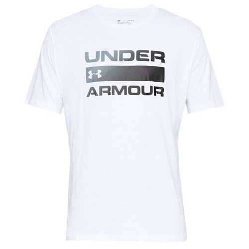 Футболка Under Armour 1329582 размер MD, White / Black - 100 бейсболка under armour размер s m white black