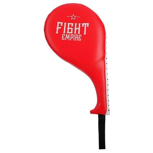 Тренировочная лапа Fight Empire ракетка 4154069 красный