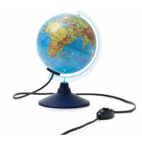 Фото - Глобус физико-политический с подсветкой d=15 глобус globen глобен d 210мм серия классик политический с подсветкой
