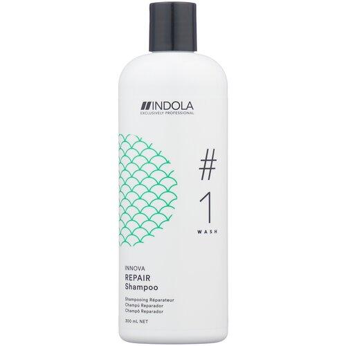 Фото - Indola шампунь Innova Repair, 300 мл шампунь для восстановления поврежденных волос indola innova repair shampoo 300 мл