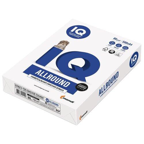 Фото - Бумага IQ Allround A4 80 г/м² 500 лист., белый бумага canon a4 black label extra 80 г м² 500 лист белый