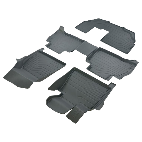 Фото - Комплект ковриков салона SRTK 3D.BM.X.7.7S.18G.08Х06 4 шт. черный комплект ковриков салона srtk pr w pas b7 11g 02023 5 шт черный