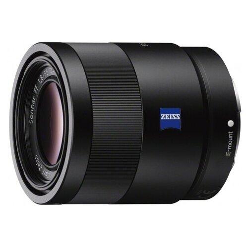 Фото - Объектив Sony Carl Zeiss Sonnar T* 55mm f/1.8 ZA (SEL-55F18Z) объектив sony sel 28f20 28 mm f 2 for nex