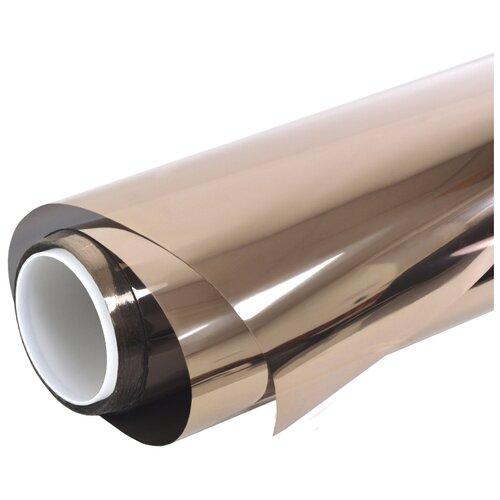 Пленка оконная солнцезащитная Bronze 10 - зеркальная архитектурная тонировка: 152х300 см