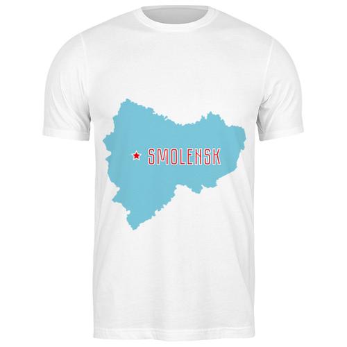 Футболка классическая Смоленская область. Смоленск #2194944 (цвет: БЕЛЫЙ, пол: МУЖ, качество: ЭКОНОМ, размер: S)