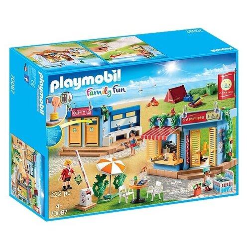 Конструктор Playmobil Family Fun 70087 Большой кемпинг