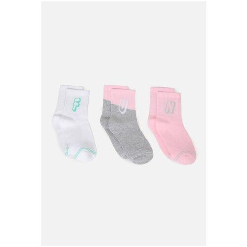Носки 3 пары размер 18-20, цветной, ТМ Acoola, арт. 32214420082