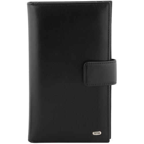 Бумажник путешественника Petek 1855 2394.000.01 Black