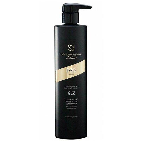 Купить Divination Simone DeLuxe 4.2 кондиционер для волос Restructuring and Hair Loss Treatment Triple Action тройного действия, 500 мл
