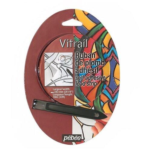 Купить Лента витражная Pebeo самоклеящаяся, Vitrail, 2*3 мм, Витражная роспись