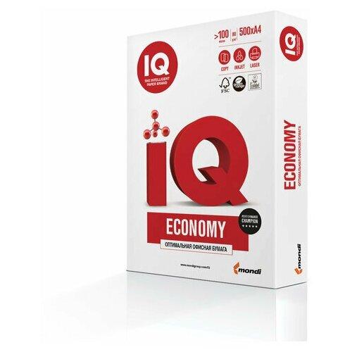 Фото - Бумага офисная IQ ECONOMY, А4, 80 г/м2, 500 л., марка С, Mondi, белизна 146% бумага iq allround а4 марка в 80 г м2 500 листов