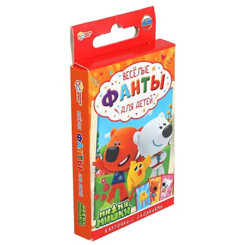 Настольная игра Умные игры Веселые фанты для детей. Ми-ми-мишки