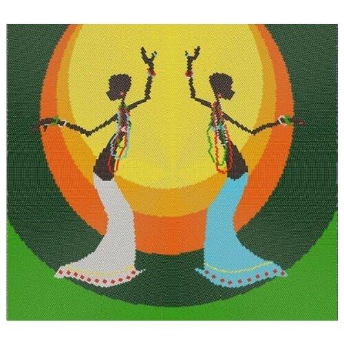 Танец (рис. на габардине 40х40) (круговая техника) 40х40 Конек 9511 40х40 Конек 9511)