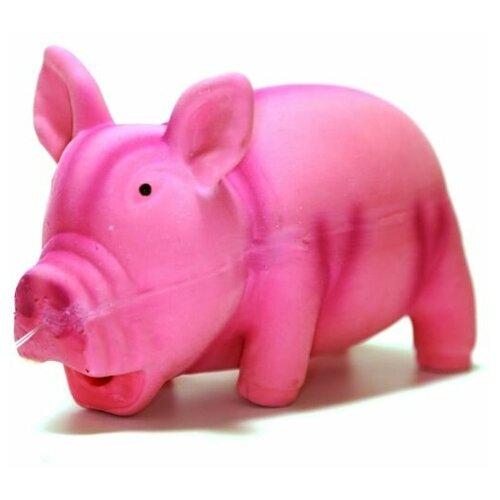Игрушка для собак Homepet Поросенок (70260) розовый
