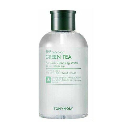 Tony Moly The chok chok green tea cleansing water, 800мл Вода мицеллярная с зеленым чаем tony moly the chok chok green