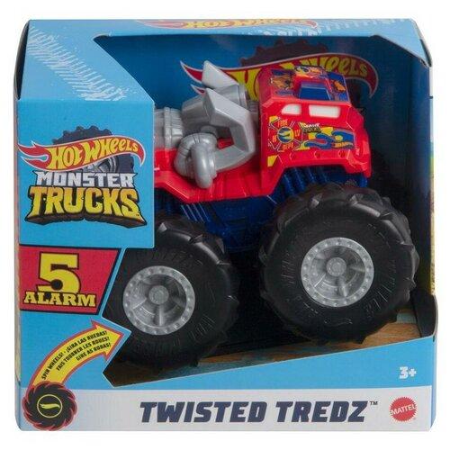Машинка Mattel Hot Wheels Монстр трак (увеличенная) инерционная GVK37 машинка mattel hot wheels трейлер с прицепом