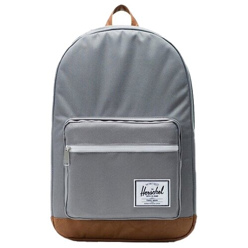 Городской рюкзак Herschel Pop Quiz 22, grey/tan synthetic leather