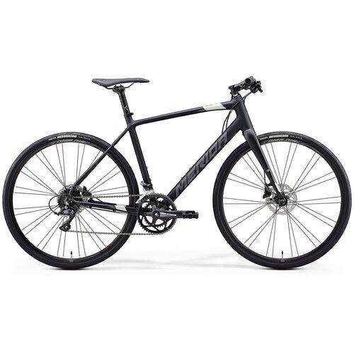 Велосипед Merida Speeder 200 MattBlack/DarkSilver 18 скоростей рама XL (59 см) 64088 велосипед merida speeder 80 2019