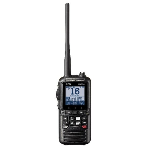 Морская портативная УКВ радиостанция Standard Horizon HX890E BLACK нетонущая