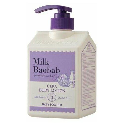 Лосьон для тела с керамидами, с ароматом детской присыпки MilkBaobab Cera Body Lotion Baby Powder