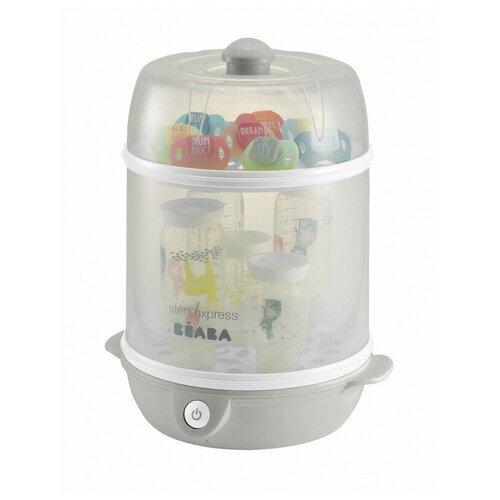 Beaba Стерилизатор электрический 2 в 1, Grey электрический стерилизатор momert 1700