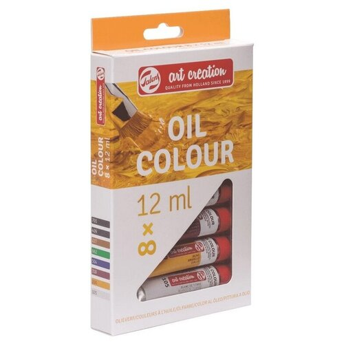 Купить Краски масляные Art Creation 8цвx12мл, 9020108M, Royal Talens