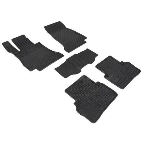 Резиновые ковры в салон Seintex 87519 Mercedes-Benz E class W213/S213/C238 [2016-...] (W213)