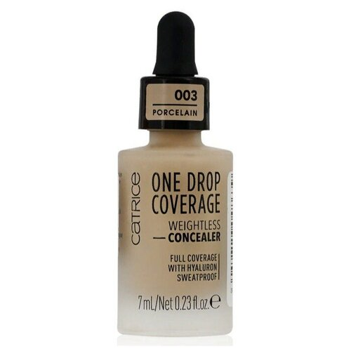 CATRICE Консилер One Drop Coverage Weightless Concealer, оттенок 003 porcelain