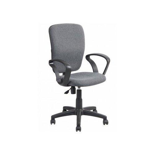 Компьютерные кресла алвест Кресло AV 202 PL (684) ткань 417 серая компьютерные кресла и стулья