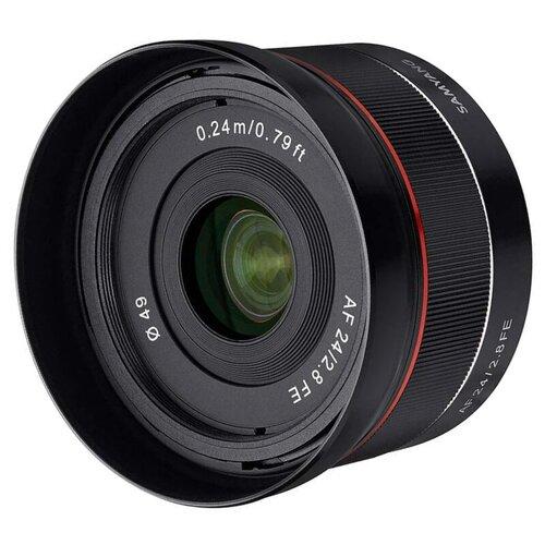 Фото - Объектив Samyang AF 24mm f/2.8 FE Sony E объектив samyang af 12mm f 2 0 fe sony e черный