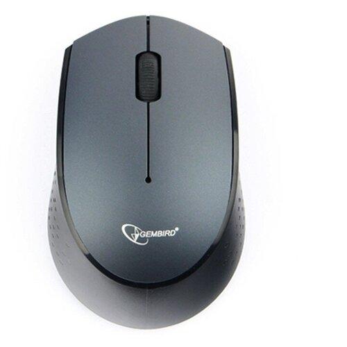 Беспроводная мышь Gembird MUSW-352, black-blue