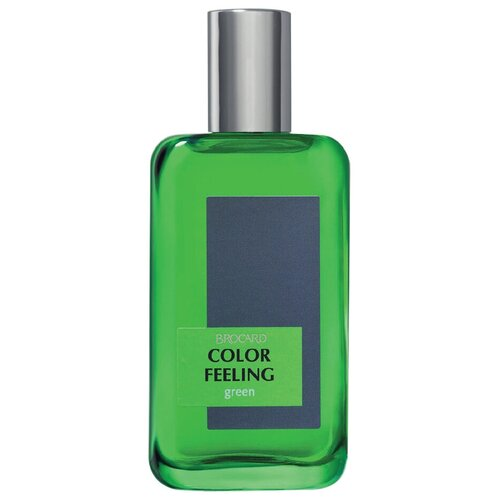 Купить Туалетная вода Brocard Color Feeling Green, 100 мл