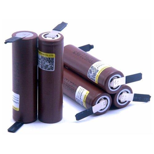 Фото - Аккумулятор LiitoKala HG2 18650 Li-ion 3.7В 3000mAh незащищенный с выводами 5 шт аккумулятор li ion 2600 ма·ч robiton sam2600 high top незащищенный 18650 1 шт