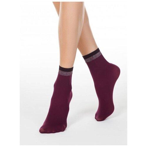 Капроновые носки Conte Elegant Fantasy 19С-26/1СП, размер 23-25, Marsala