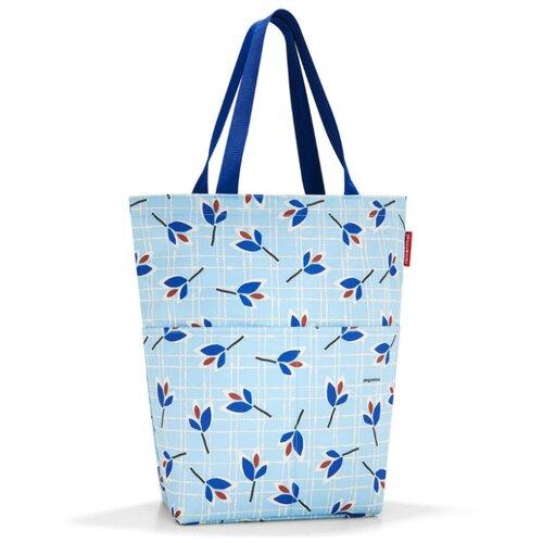 Сумка тоут reisenthel, текстиль, голубой сумка тоут reisenthel текстиль красный